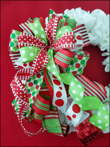 Whimsical Christmas Handmade Bow - Designer DIY