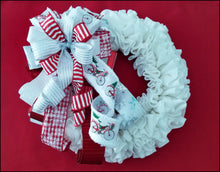 Load image into Gallery viewer, Winter Wonderland Handmade Bow - Designer DIY