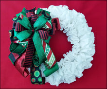 Load image into Gallery viewer, Whimsical Christmas Handmade Bow | Black - Designer DIY