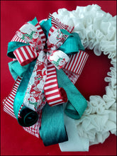 Load image into Gallery viewer, Snowman Handmade Bow - Designer DIY