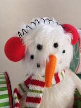 Load image into Gallery viewer, Snowman Plush - Designer DIY