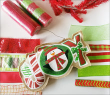Load image into Gallery viewer, JOY Penguin DIY Wreath Kit - Designer DIY