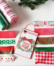 Load image into Gallery viewer, Merry & Bright DIY Wreath Kit - Designer DIY