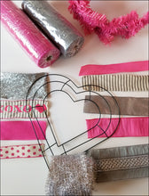 Load image into Gallery viewer, Valentine Heart DIY Wreath Kit - Designer DIY