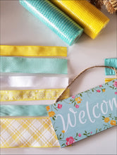 Load image into Gallery viewer, Spring Welcome DIY Wreath Kit - Designer DIY