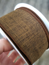 "Load image into Gallery viewer, 1.5"" Brown Solid Ribbon - Designer DIY"