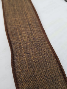 "1.5"" Brown Solid Ribbon - Designer DIY"