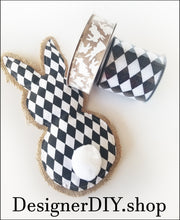 Load image into Gallery viewer, Bunny Plush | Harlequin - Designer DIY