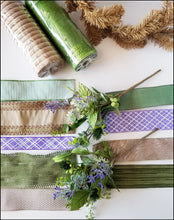 Load image into Gallery viewer, Lavender DIY Wreath Kit - Designer DIY