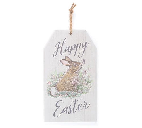 Happy Easter Hanging Tag Sign - Designer DIY