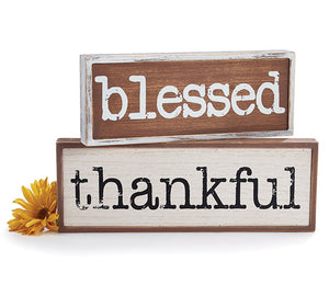 Thankful Wood Sign - Designer DIY