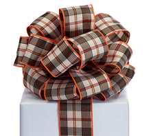 "Load image into Gallery viewer, 2.5"" Fall Plaid Ribbon - Designer DIY"