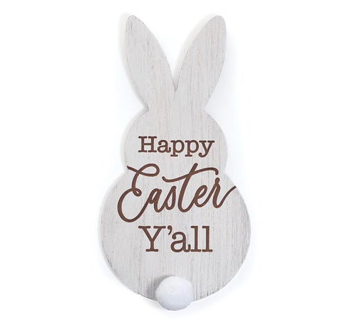 Happy Easter Y'all Bunny Sign - Designer DIY