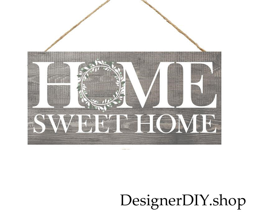 Home Sweet Home | Gray & White - Designer DIY