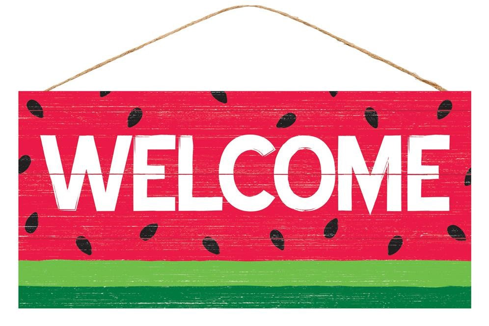 Welcome Watermelon Sign - Designer DIY