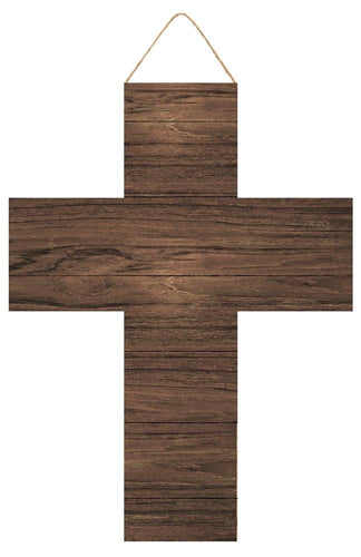 Cross Sign | Dark Brown - Designer DIY