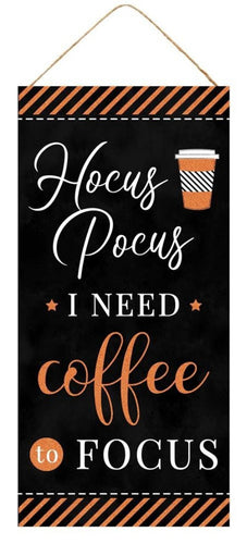 Hocus Pocus Coffee Sign - Designer DIY