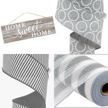 Load image into Gallery viewer, Home Sweet Home Gray Sign - Designer DIY