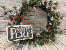 Load image into Gallery viewer, Peace | Holiday Sign - Designer DIY