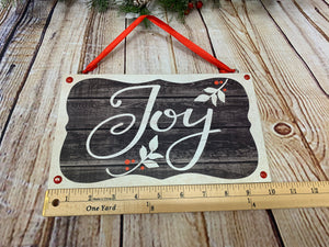 Joy | Holiday Sign - Designer DIY