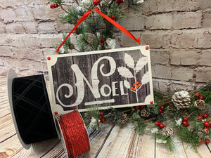 Noel | Holiday Sign - Designer DIY