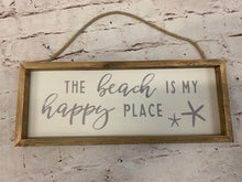Load image into Gallery viewer, The Beach Is My Happy Place Wreath - Designer DIY