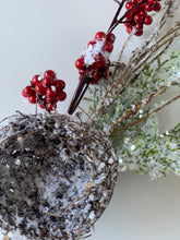 Load image into Gallery viewer, Frosted Nest & Berries Pick - Designer DIY