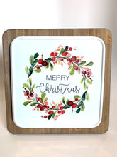 Load image into Gallery viewer, Merry Christmas Sign - Designer DIY