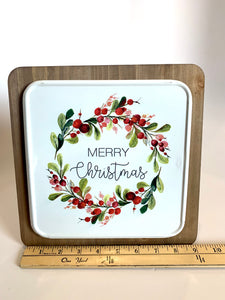 Merry Christmas Sign - Designer DIY