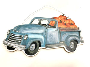 Fall Pumpkin Truck Sign - Designer DIY
