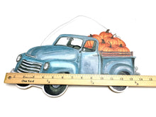 Load image into Gallery viewer, Fall Pumpkin Truck Sign - Designer DIY