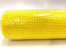 "Load image into Gallery viewer, 10"" Yellow Fabric Mesh - Designer DIY"