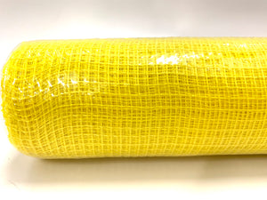 "10"" Yellow Fabric Mesh - Designer DIY"