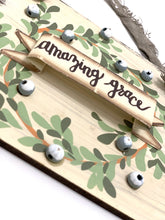 Load image into Gallery viewer, Amazing Grace Christmas Sign | Ornament - Designer DIY