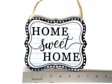 Load image into Gallery viewer, Home Sweet Home Tin sign - Designer DIY
