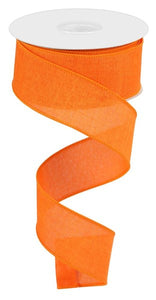 "1.5"" Orange Solid Ribbon - Designer DIY"
