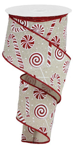 "2.5"" Candy Cane 