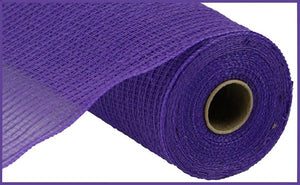 "10.5"" Purple Faux Jute Mesh - Designer DIY"