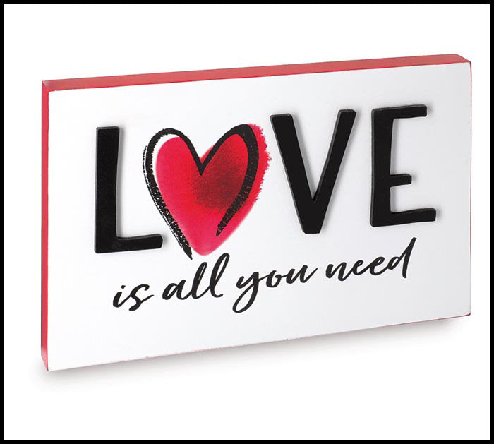 Love is All You Need Sign