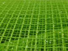 "Load image into Gallery viewer, 10"" Lime Green Fabric Mesh - Designer DIY"