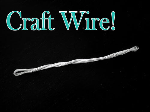 Cloth Covered Bow Craft Wire - Designer DIY