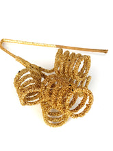 Load image into Gallery viewer, Glitter Curl Pick | Gold - Designer DIY