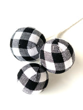 Load image into Gallery viewer, Buffalo Plaid Pick | White - Designer DIY