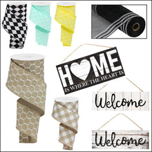 Load image into Gallery viewer, Home Is Where The Heart Is Sign - Designer DIY