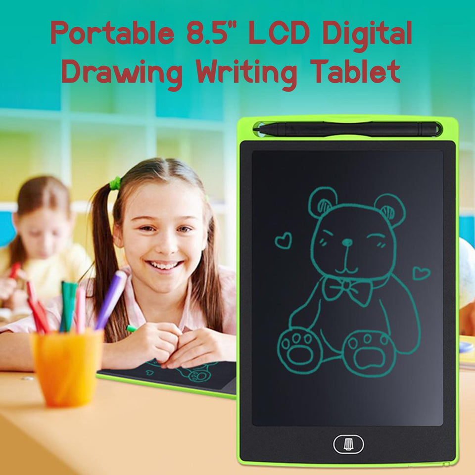 "Portable 8.5"" LCD Digital Drawing Writing Tablet"