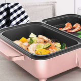 Korean Multifunctional Electric Grill Frying Hotpot Machine