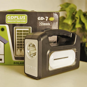 GD PLUS® Portable Solar Emergency Lighting System