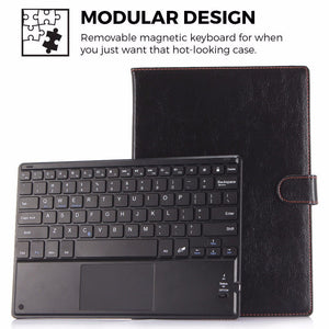 Wireless Bluetooth Keyboard with Touchpad Compatible in iOS, Android & Windows