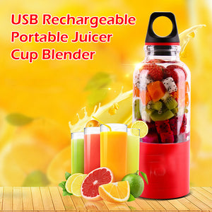 USB Rechargeable Portable Juicer Cup Blender