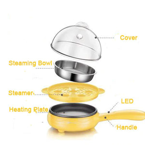 Multifunction Mini Electric Frying Pan